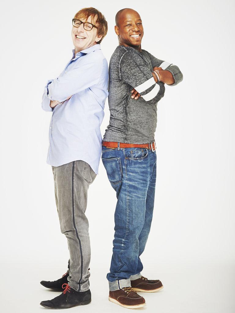 Ian Wright and Ian Stone